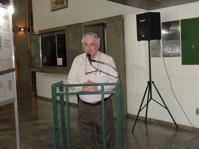 João Olímpio Tognolli agradece a todos os envolvidos na realização da Exposição