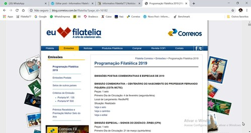 siteprogramacaofilatelica